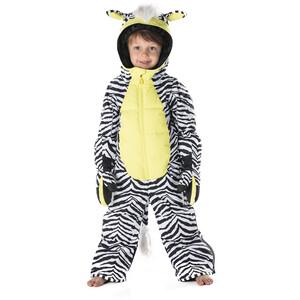 WeeDo Zeedo Zebra Snowsuit Kids, zebra white zebra white