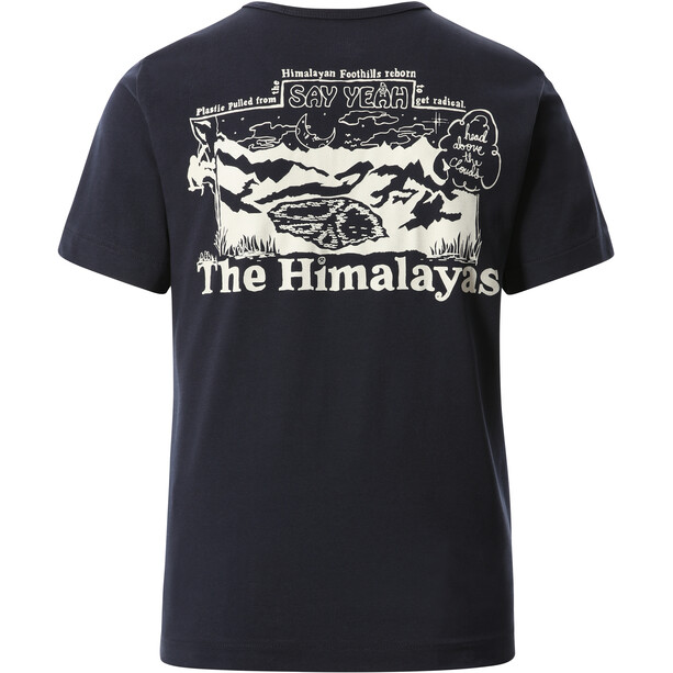 The North Face Himalayan Bottle Source Kurzarm T-Shirt Damen aviator navy