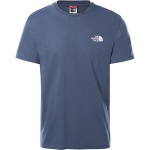 The North Face Simple Dome Kurzarm T-Shirt Herren blau blau