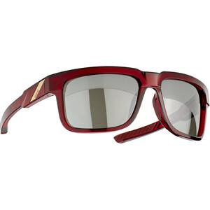 100% Type S Brille rot/grau rot/grau