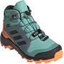 adidas TERREX Mid Gore-Tex Hiking Shoes Kids, turkoosi/oranssi