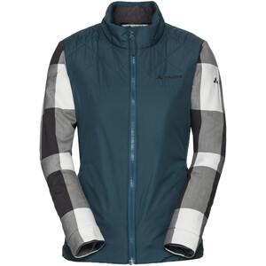 VAUDE Cyclist II Gefütterte Jacke Damen petrol/grau petrol/grau
