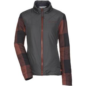 VAUDE Cyclist II Padded Jacket Women, gris/marron gris/marron