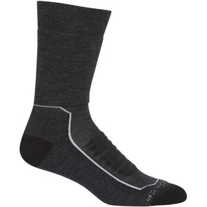 Icebreaker Hike+ Heavy Crew Socks Men, gris gris