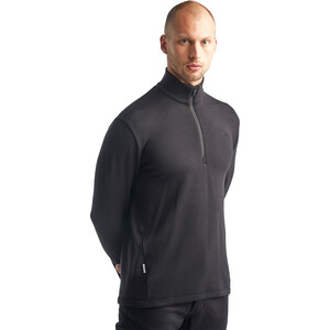 Icebreaker Original Langarm Half Zip Pullover Herren black black