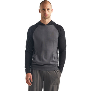 Icebreaker Utility Explr Sweater Herren monsoon heather/black heather monsoon heather/black heather