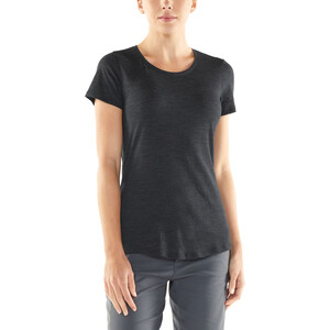 Icebreaker Sphere SS Low Rundhalsshirt Damen black heather black heather