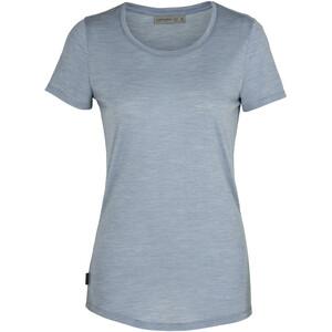 Icebreaker Sphere T-shirt Col ras-du-cou Bas Femme, gris gris