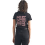 Icebreaker Tech Lite Kurzarm Low Rundhalsshirt Growers Club Damen black