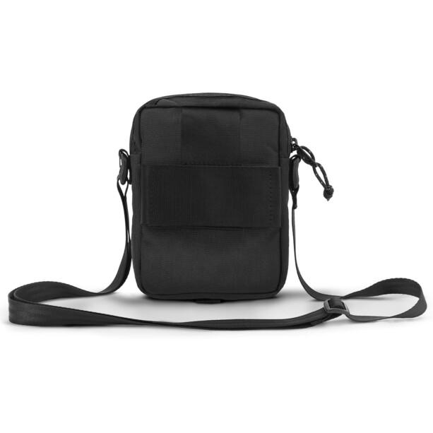 Chrome Shoulder Accessory Pouch, all black