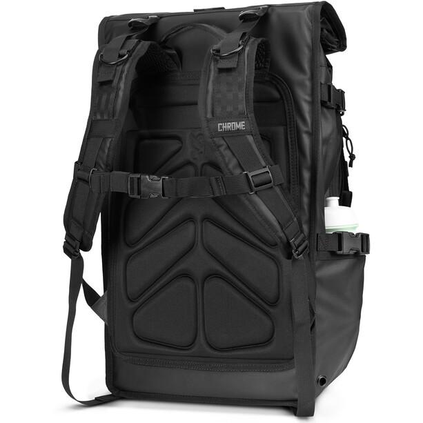 Chrome Barrage Freight Backpack, black tarp