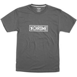 Chrome Horizontal Border T-Shirt grau/weiß grau/weiß