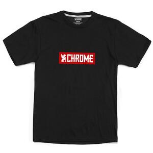 Chrome Horizontal Red Logo Tee, noir/rouge noir/rouge