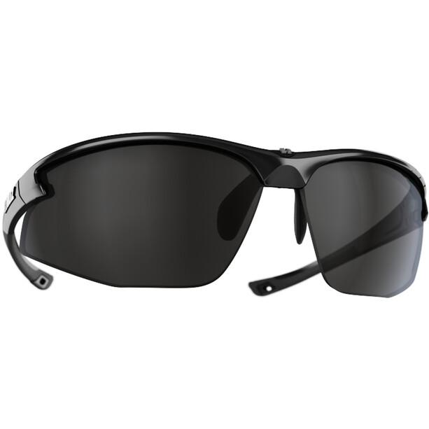 Bliz Motion+ Brille metallic black/smoke with silver mirror