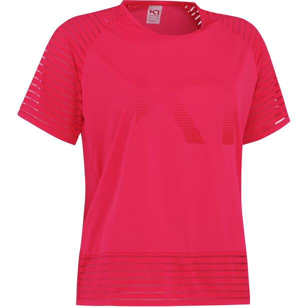 Kari Traa Maiken T-Shirt Damen shock