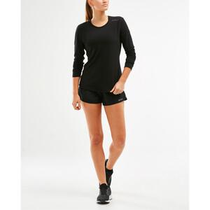2XU Heat Langarmshirt Damen black black