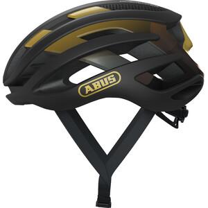 ABUS AirBreaker ヘルメット ブラックゴールド