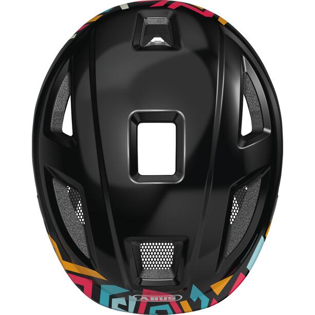 ABUS Anuky 2.0 Helm Kinder schwarz/bunt