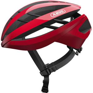 ABUS Aventor Road ヘルメット レーシングレッド