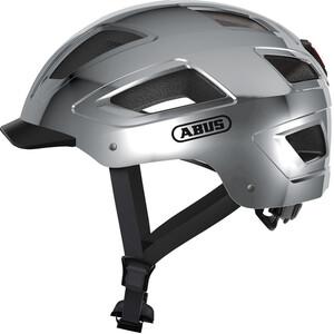 ABUS Hyban 2.0 ヘルメット クロムシルバー