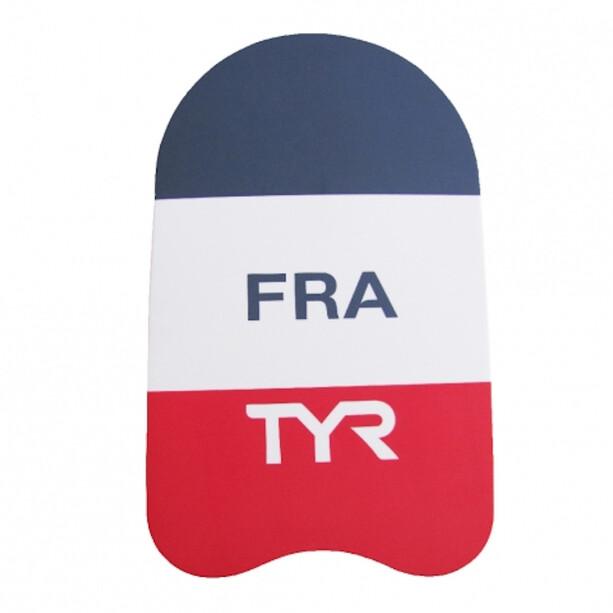 TYR FFN Kickboard Frankreich bunt