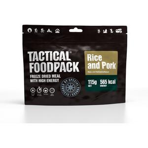 Tactical Foodpack Freeze Dried Mahlzeit 115g Reis und Schweinefleisch
