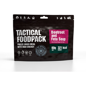 Tactical Foodpack Freeze Dried Mahlzeit 60g Rote-Bete-Suppe mit Feta