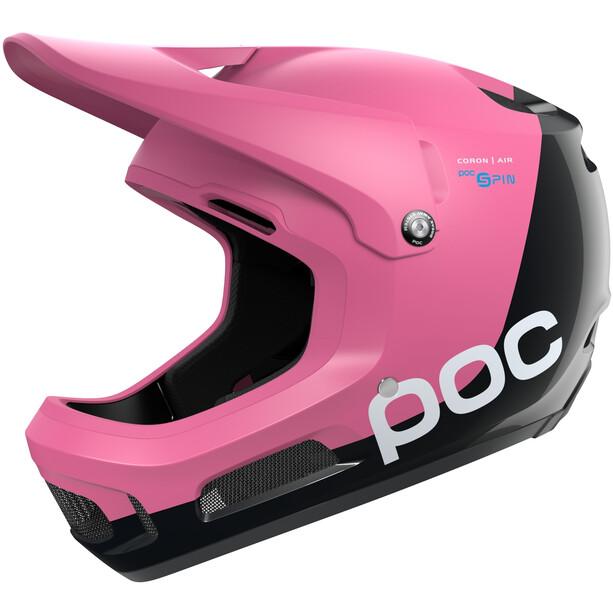 POC Coron Air Spin Helm actinium pink/uranium black matt