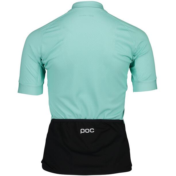 POC Essential Road Logo Kurzarm Trikot Damen grün