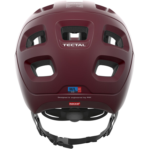 POC Tectal Helm propylene red matt