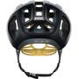 POC Ventral Air Spin Helm uranium black/sulfur yellow matt