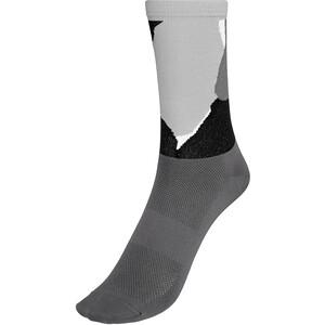 POC Essential Print Socken grau grau