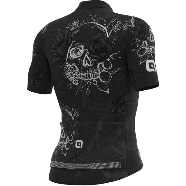 Alé Cycling PRR Skull Kurzarm Trikot Herren black