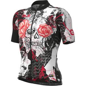 Alé Cycling PRR Skull Maglietta a Maniche Corte Uomo, nero/bianco nero/bianco
