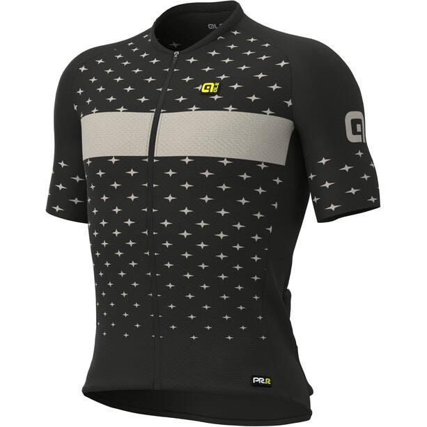 Alé Cycling PRR Stars Kurzarm Trikot Herren black/dove grey