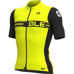 Alé Cycling PR-S Logo Summer Kurzarm Trikot Herren gelb gelb