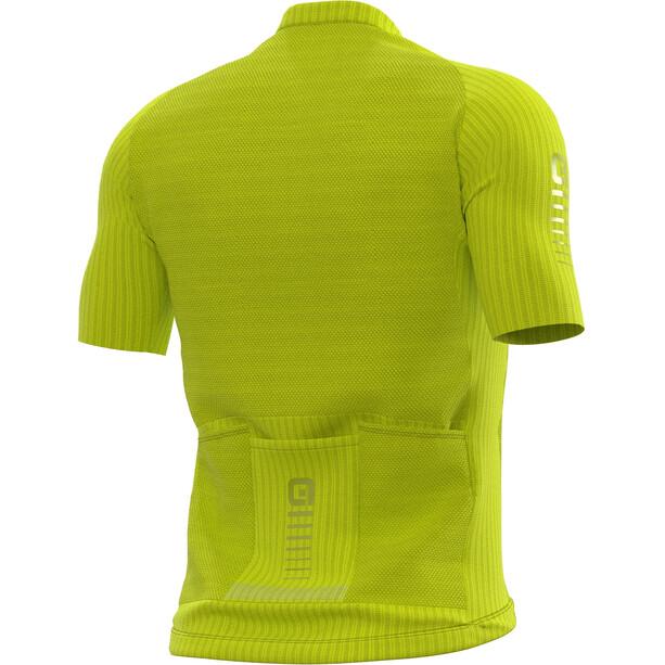 Alé Cycling R-EV1 Silver Cooling Kurzarm Trikot Herren fluo yellow
