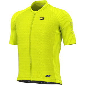 Alé Cycling R-EV1 Silver Cooling Kurzarm Trikot Herren fluo yellow fluo yellow