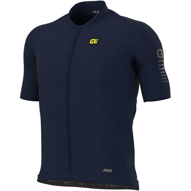 Alé Cycling R-EV1 Silver Cooling SS Jersey Men, bleu