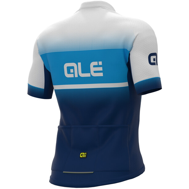 Alé Cycling Solid Blend Maillot Manches courtes Homme, bleu
