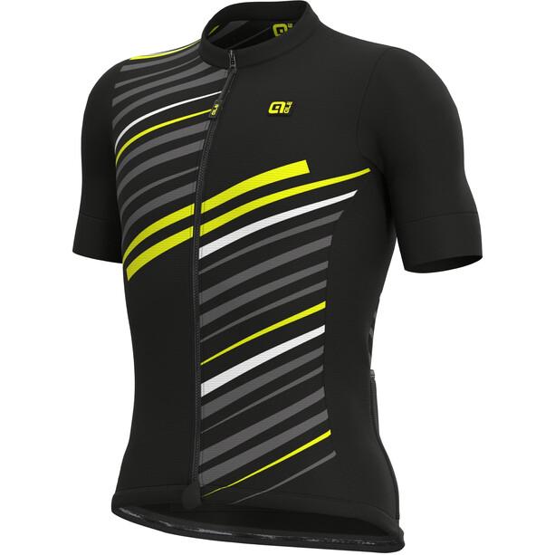 Alé Cycling Solid Flash Kurzarm Trikot Herren black