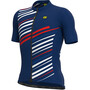 Alé Cycling Solid Flash SS Jersey Men, navy blue