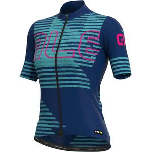 Alé Cycling PRR Horizon Kurzarm Trikot Damen blau/türkis blau/türkis