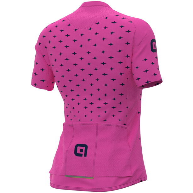 Alé Cycling PRR Stars SS Jersey Women, rose/bleu