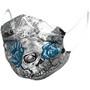 Alé Cycling Skull Gesichtsmaske grey