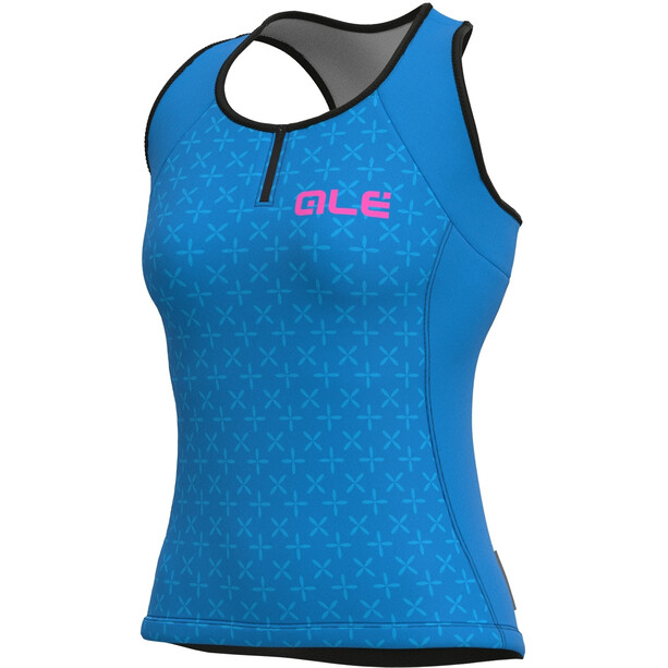 Alé Cycling Solid Helios Tank Top Women, bleu