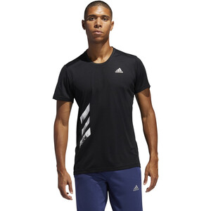 adidas Run It Tee Men black black