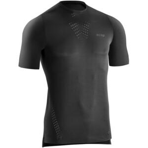 cep Run Ultralight Shirt Short Sleeve Men, noir noir
