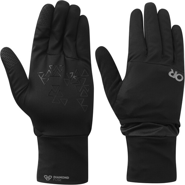Outdoor Research Helium Wind Convertible Liners black