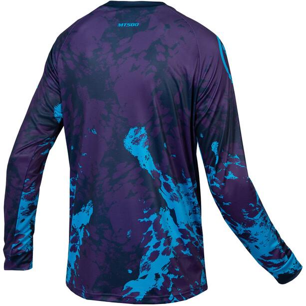 Endura MT500 Animo Langarm T-Shirt Herren lila